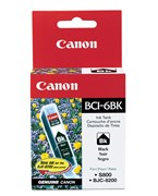 Canon BCI6BK Black Ink 280 Yield 4705A003AA
