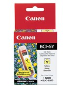 Canon BCI6Y Yellow Ink 280 Yield 4708A003AA
