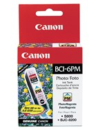 Canon BCI6PM Photo Magenta Ink 280 Yield 4710A003AA