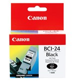 Canon BCI24BK Black Ink 150 Yield 6881A003AA