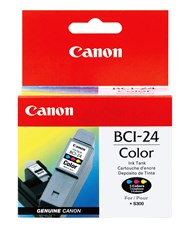 Canon BCI24CL Color Ink 170 Yield 6882A003AA
