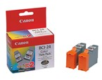 Canon BCI24CL Color Ink 340 Yield 6882A010AA