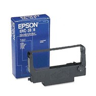 Epson ERC-38BR Black/Red Ribbon Cartridge 1.5M/750K Yield