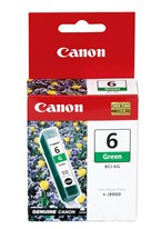 Canon BCI6G Green Ink 280 Yield 9473A003AA