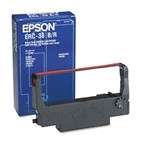Epson ERC-23BR Black/Red Ribbon Cartridge 750K Yield