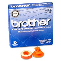 Brother 3015 Lift off correction tapes Dry 6 Pack
