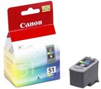 Canon CL51 Color High Yield Ink 450 Yield 0618B002