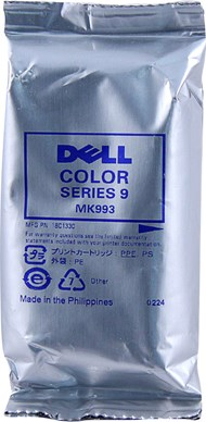 Dell MK993 Series 9 Color High Yield Ink 285 Yield