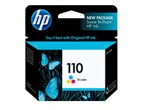 HP 110 Tri-Color Ink 110V 55 Yield CB304AN
