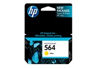 HP 564 Yellow Ink 300 Yield CB320WN