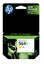 HP 564XL High Yield Yellow Ink 750 Yield CB325WN