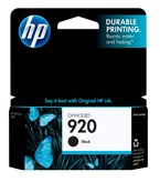 HP 920 Black Ink 420 Yield CD971AN