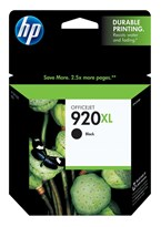 HP 920XL High Yield Black Ink 1200 Yield CD975AN