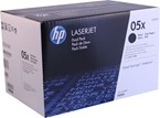 HP 05X High Yield Black Toner 6500 Yield CE505XD 2 Pack