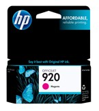 HP 920 Magenta Ink 300 Yield CH635AN
