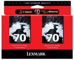 Lexmark #70 Black Ink 600 Yield 15M1330