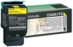 Lexmark Yellow Return Program Toner 1000 Yield C540A4YG